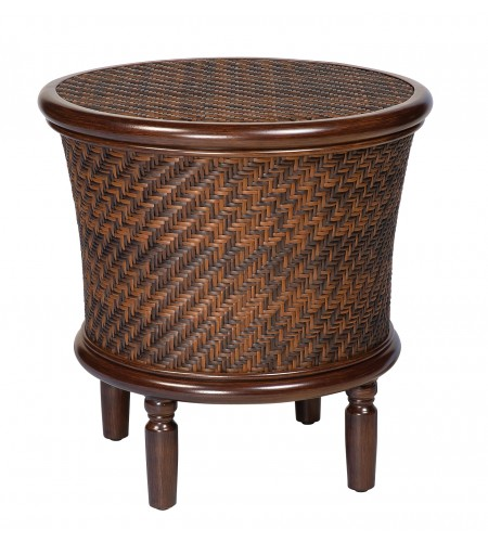 Round Storage End Table Product Photo