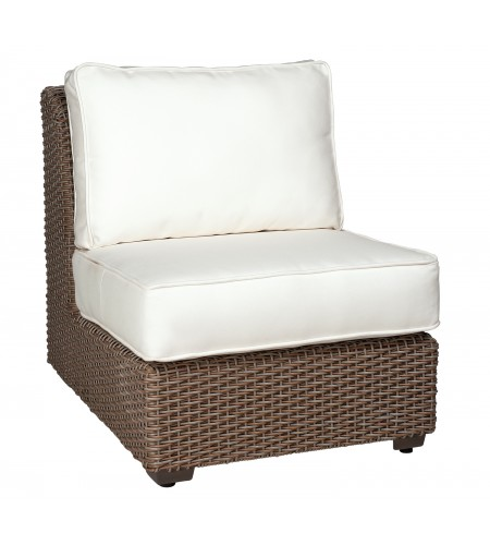 Wicker Armless Sectional Unit Product Photo