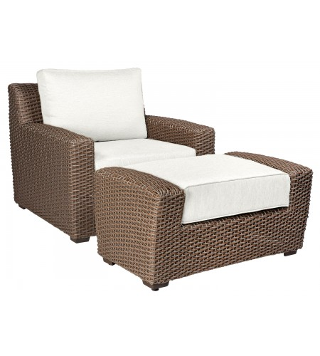 Wicker Stationary Lounge Chair Product Photo