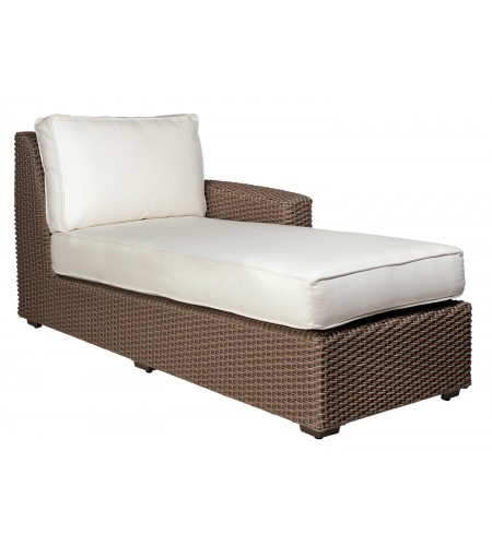 Wicker Chaise Sectional Pic