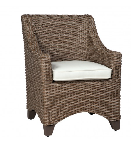 Wicker Dining Armchair Product Photo