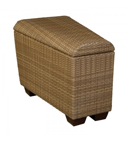 Wicker Wedge Unit Storage Product Photo
