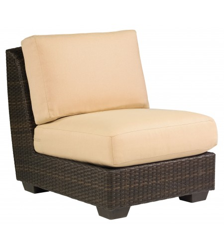 Wicker Sectional Armless Chair Product Photo