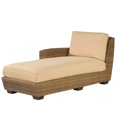 Wicker Chaise Lounge Sectional Product Photo