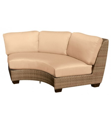 Wicker Curved Sectional Chair Pic