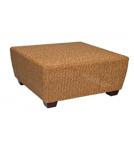 Wicker Square Coffee Table Product Photo