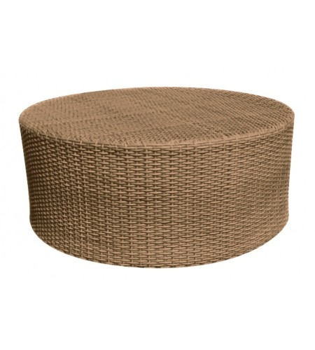 Wicker Round Coffee Table Product Photo