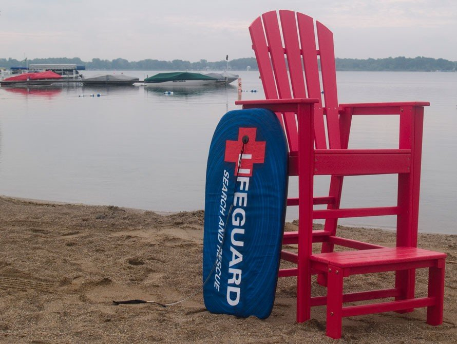 Lifeguard Chair Product Photo
