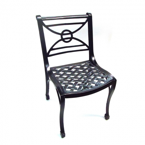 Armless Chair Product Photo