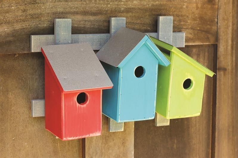 Trellis Trio Birdhouse Product Photo