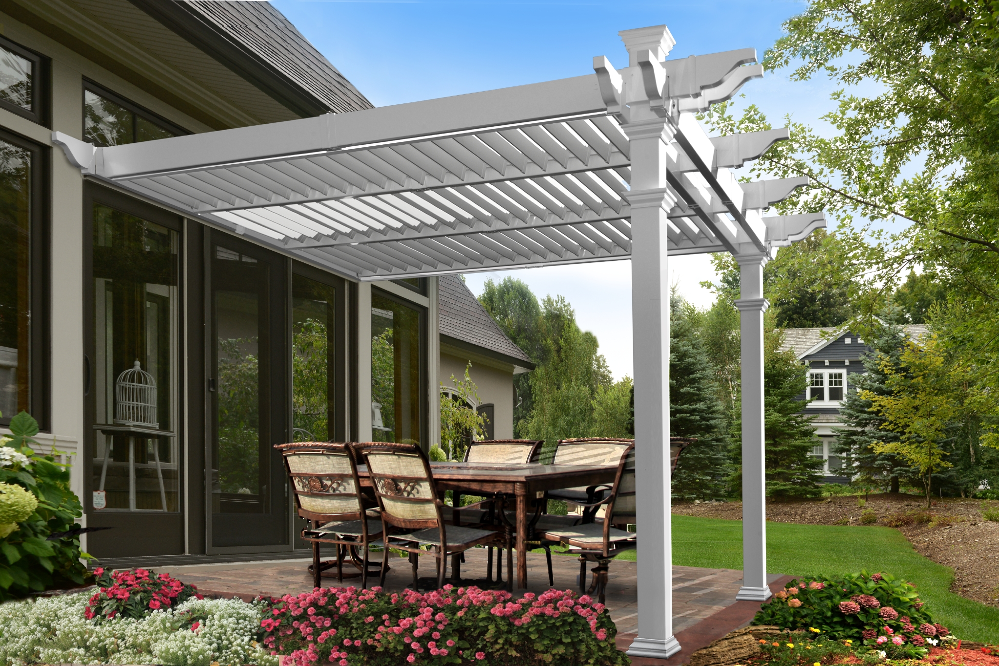 Louvered Pergola Product Photo