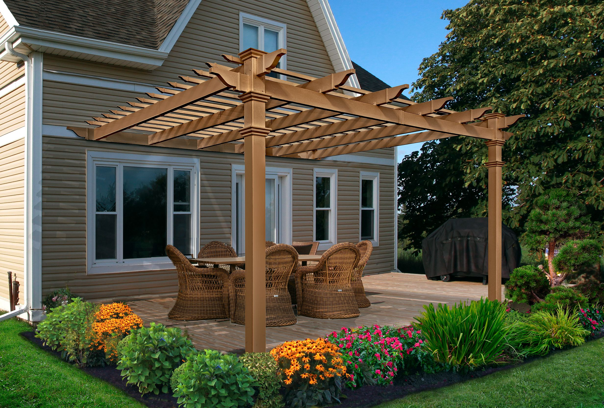 Composite Pergola Product Photo
