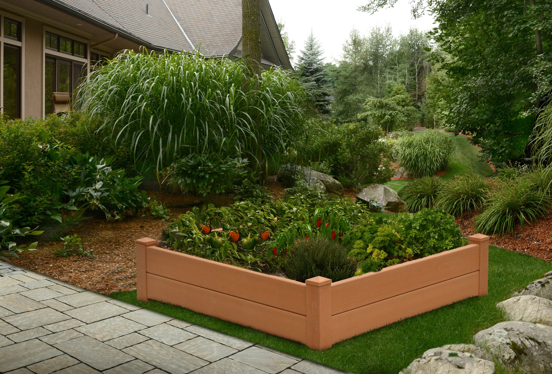 Garden Bed Raised Composite Product Photo