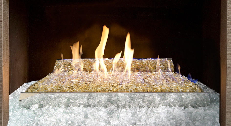 Fire Heat Fireplace Logs Burners