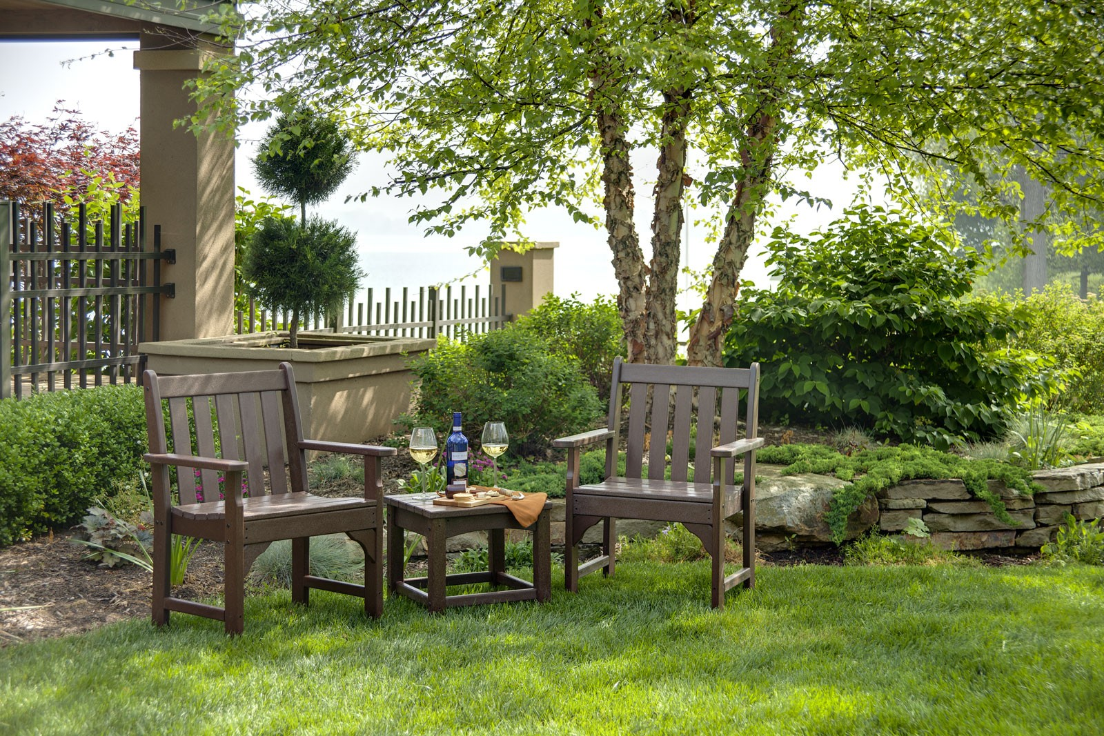 Vineyard Garden Arm Chair Product Photo